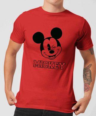 T-Shirt Homme Mickey Mouse Depuis 1928 (Disney) - Rouge - XS chez Casa Décoration