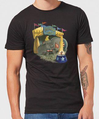 T-Shirt Homme Cirque Dumbo Disney - Noir - XS chez Casa Décoration