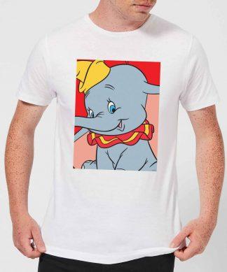 T-Shirt Homme Portrait Dumbo Disney - Blanc - XS - Blanc chez Casa Décoration