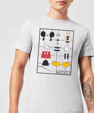 T-Shirt Homme Mickey Mouse à Construire - Gris - XS chez Casa Décoration
