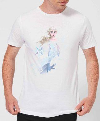 Frozen 2 Nokk Sihouette Men's T-Shirt - White - XS chez Casa Décoration