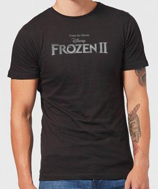 Frozen 2 Title Silver Men's T-Shirt - Black - XS - Noir chez Casa Décoration