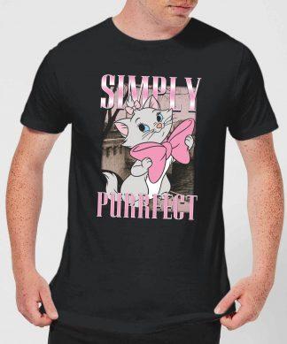 Disney Aristocats Simply Purrfect Men's T-Shirt - Black - XS - Noir chez Casa Décoration