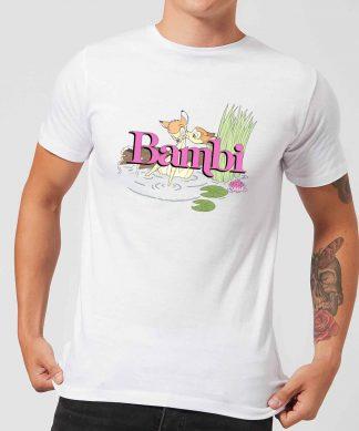 Disney Bambi Kiss Men's T-Shirt - White - XS - Blanc chez Casa Décoration