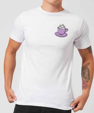 Disney Aristocats Marie Teacup Men's T-Shirt - White - XS - Blanc chez Casa Décoration
