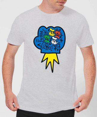 Donald Duck Pop Fist Men's T-Shirt - Grey - XS - Gris chez Casa Décoration