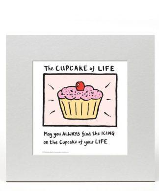 Impression Édition Limitée Cupcake of Life - Edward Monkton chez Casa Décoration