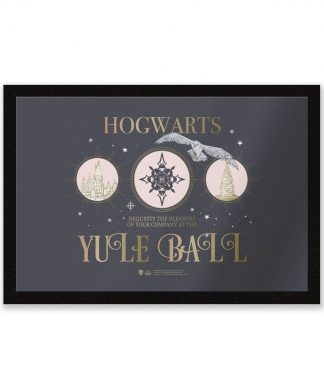 Harry Potter Welcome To The Yule Ball Entrance Mat chez Casa Décoration