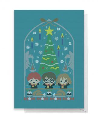 Harry Potter Trio Greetings Card - Large Card chez Casa Décoration