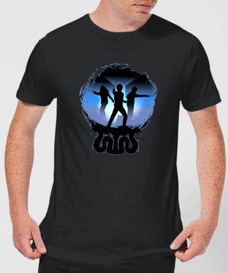 T-Shirt Homme Silhouette de Bataille - Harry Potter - Noir - XS - Noir chez Casa Décoration