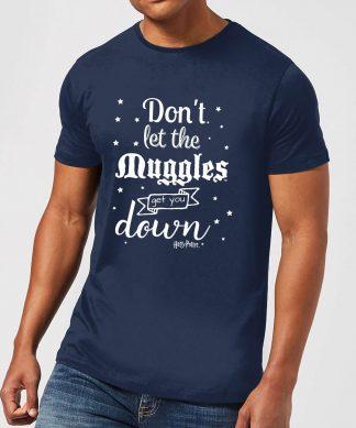 T-Shirt Homme Ne te Laisse pas Faire par les Modus - Harry Potter - Bleu Marine - XS - Navy chez Casa Décoration