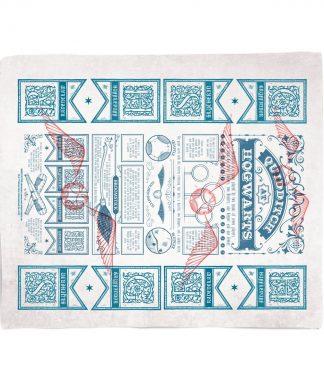 Harry Potter Quidditch Guide Fleece Blanket - S chez Casa Décoration