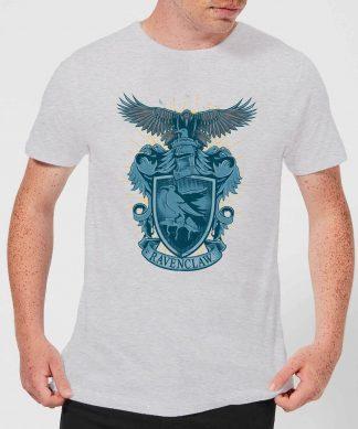 Harry Potter Ravenclaw Drawn Crest Men's T-Shirt - Grey - XS - Gris chez Casa Décoration