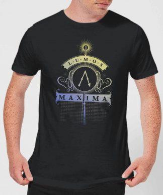 Harry Potter Lumos Maxima Men's T-Shirt - Black - XS - Noir chez Casa Décoration