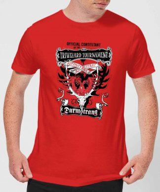 Harry Potter Triwizard Tournament Durmstrang Men's T-Shirt - Red - XS - Rouge chez Casa Décoration