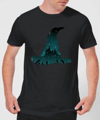 Harry Potter Sorting Hat Silhouette Men's T-Shirt - Black - XS - Noir chez Casa Décoration