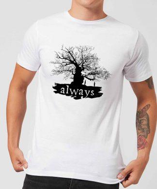 Harry Potter Always Tree Men's T-Shirt - White - XS - Blanc chez Casa Décoration