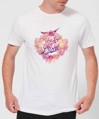 Harry Potter You Are So Loved Men's T-Shirt - White - XS - Blanc chez Casa Décoration