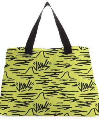 Jaws Yellow Doodle Tote Bag chez Casa Décoration