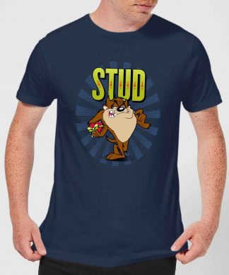 Looney Tunes Stud Taz Men's T-Shirt - Navy - XS chez Casa Décoration