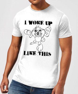 T-Shirt Homme Woke Up Like This Looney Tunes - Blanc - XS chez Casa Décoration