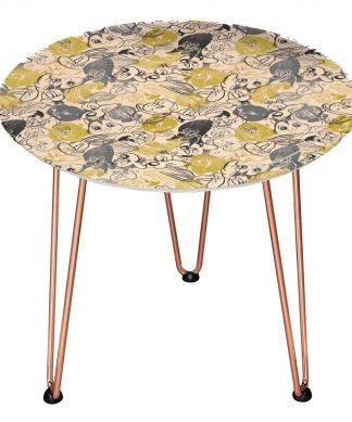 Table en bois Decorsome - Looney Tunes - Doré chez Casa Décoration
