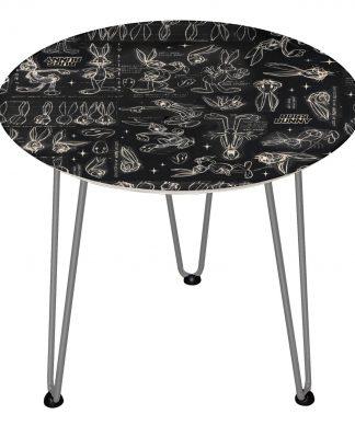 Table en bois Decorsome - Bugs Bunny Looney Tunes - Silver chez Casa Décoration