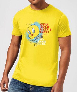 Looney Tunes ACME Lash Curler Men's T-Shirt - Yellow - XS - Citron chez Casa Décoration