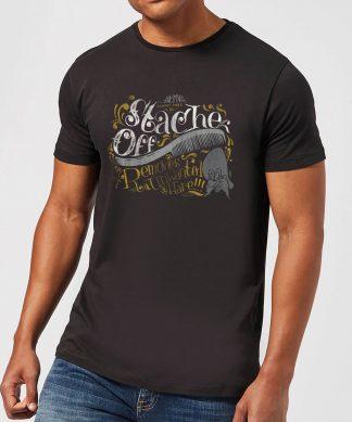 Looney Tunes ACME 'Stache Off Men's T-Shirt - Black - XS - Noir chez Casa Décoration