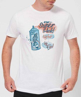Looney Tunes ACME Super Hold Men's T-Shirt - White - XS - Blanc chez Casa Décoration