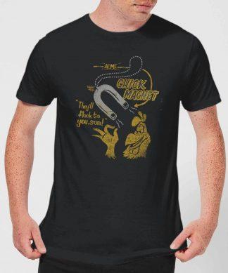 Looney Tunes ACME Chick Magnet Men's T-Shirt - Black - XS - Noir chez Casa Décoration