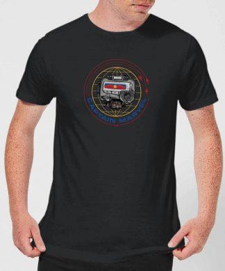 Captain Marvel Pager Men's T-Shirt - Black - XS - Noir chez Casa Décoration