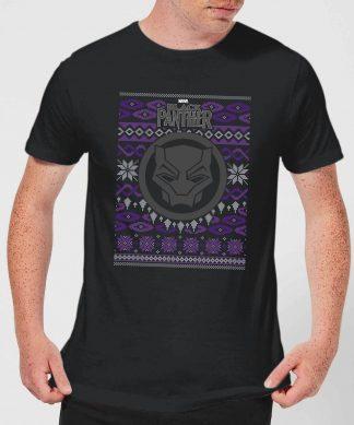 Pull de Noël Homme Marvel Avengers Black Panther - Noir - XS - Noir chez Casa Décoration