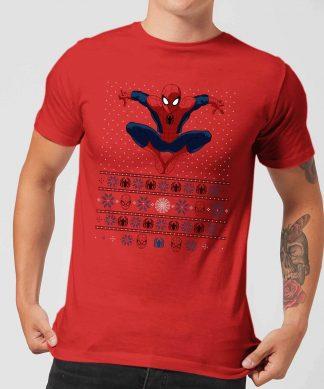 Pull de Noël Homme Marvel Avengers Spider-Man - Rouge - XS - Rouge chez Casa Décoration