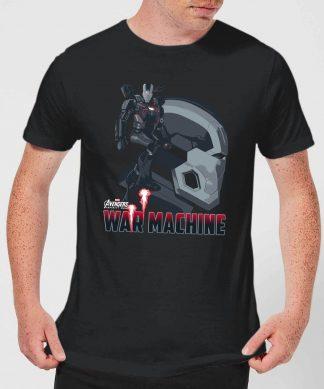 T-Shirt Homme War Machine Avengers - Noir - XS chez Casa Décoration
