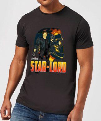 T-Shirt Homme Star-Lord Avengers - Noir - XS - Noir chez Casa Décoration
