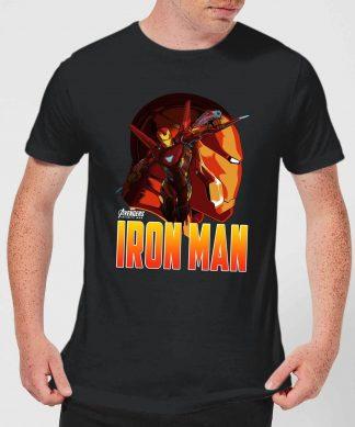 T-Shirt Homme Iron Man Avengers - Noir - XS chez Casa Décoration