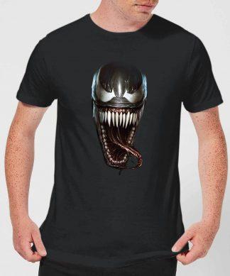 T-Shirt Homme Visage Venom - Noir - XS - Noir chez Casa Décoration