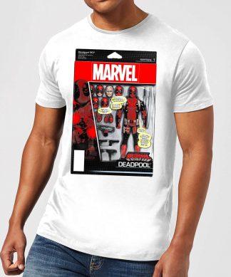 T-Shirt Homme Figurine Deadpool Marvel - Blanc - XS - Blanc chez Casa Décoration