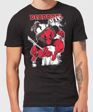 T-Shirt Homme Deadpool Max Marvel - Noir - XS - Noir chez Casa Décoration
