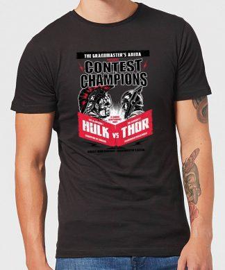 T-Shirt Homme Marvel - Thor Ragnarok - Affiche Champions - Noir - XS chez Casa Décoration