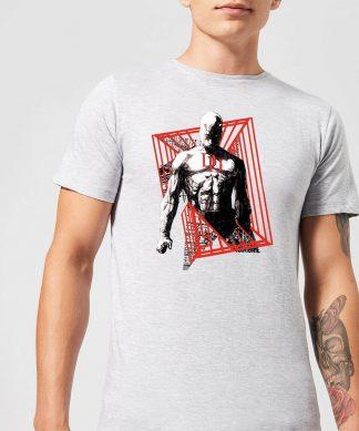 T-Shirt Homme Daredevil Cage - Marvel Knights - Gris - XS chez Casa Décoration