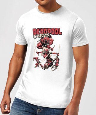 T-Shirt Homme Deadpool Family Corps Marvel - Blanc - XS - Blanc chez Casa Décoration