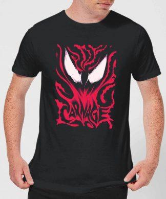 T-Shirt Homme Venom Carnage Marvel - Noir - XS - Noir chez Casa Décoration