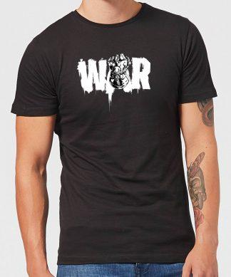 T-Shirt Homme Avengers Infinity War ( Marvel) War Fist - Noir - XS chez Casa Décoration