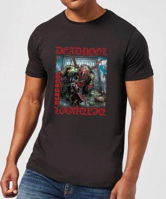 T-Shirt Homme Deadpool (Marvel) Here Lies Deadpool - Noir - XS - Noir chez Casa Décoration
