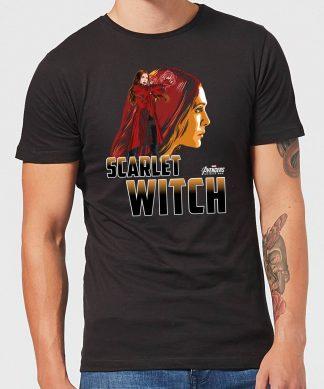 T-Shirt Homme Scarlet Witch - Sorcière rouge Avengers - Noir - XS - Noir chez Casa Décoration