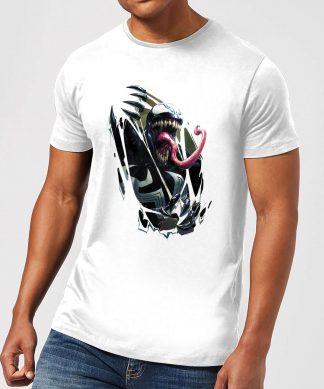 T-Shirt Homme Venom Explose - Blanc - XS - Blanc chez Casa Décoration