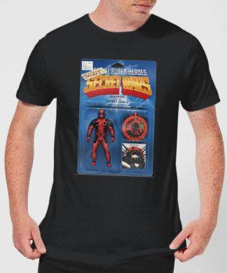 T-Shirt Homme Deadpool Figurine Secret Wars Marvel - Noir - XS - Noir chez Casa Décoration