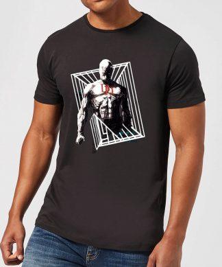T-Shirt Homme Daredevil Cage - Marvel Knights - Noir - XS chez Casa Décoration